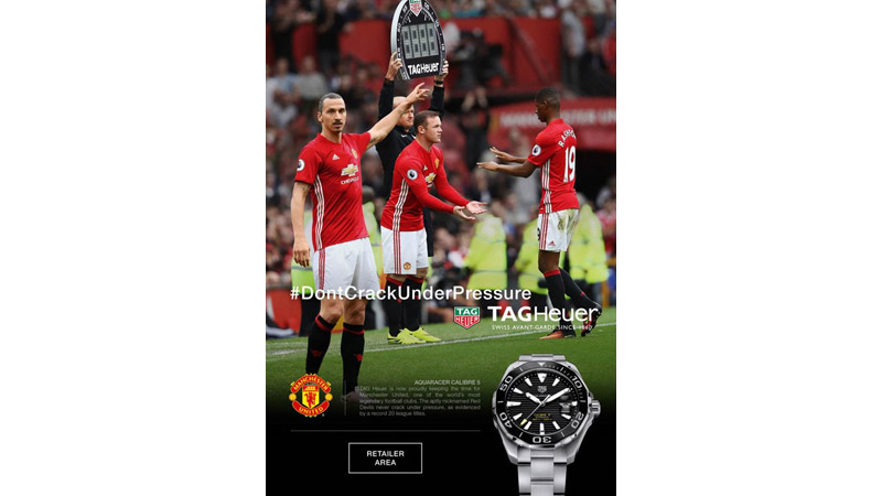 1/132  Manchester United for Tag Heuer